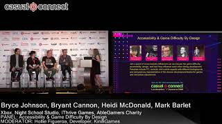 Accessibility & Game Difficulty By Design  | PANEL