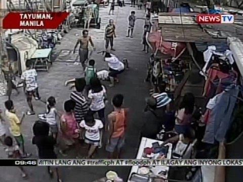 SONA Pagbugbog at pagsaksak sa isang lalake sa Maynila kuha sa CCTV