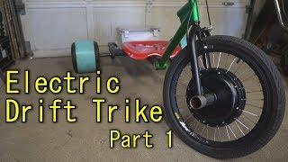 Homemade Electric Drift Trike - Part 1