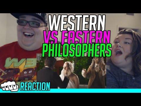 EASTERN PHILOSOPHERS VS WESTERN PHILOSOPHERS ERB REACTION!!🔥