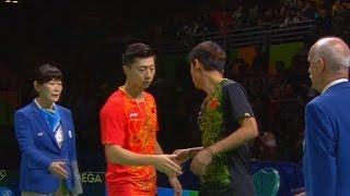 Ma Long vs Zhang Jike (Men's Singles Final) Olympic Rio 2016 Highlights