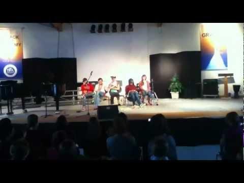 BFA Talent show: Movie Theater skit