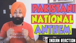 INDIAN Reaction on PAKISTAN NATIONAL ANTHEM 👍 #108 | Coke Studio | Sanmeet Singh