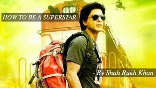 Chennai Express I Shah Rukh Khan teaches how to be a Superstar I