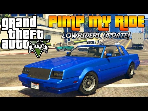 GTA V - Pimp My Ride #158 | NEW LOWRIDERS Faction Donk | Car Customization