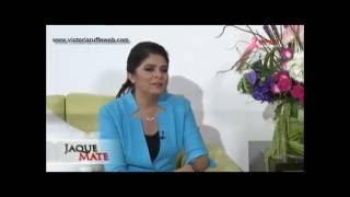 [VIDEO] Victoria Ruffo en entrevista en el programa @jaquemate_1 Radio y TV Hidalgo