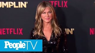 Jennifer Aniston Gets Sweet Support From Courteney Cox At Netflix Movie Premiere | PeopleTV