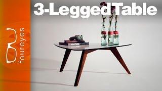 Making a 3-legged table