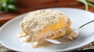Cold mango dessert