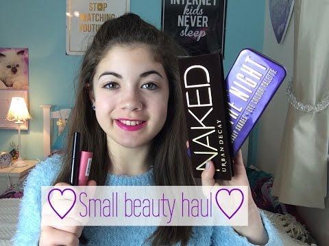 Small beauty haul// Galaxy Teen