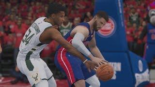 Milwaukee Bucks vs Detroit Pistons NBA Playoffs 4/22/2019 - Bucks vs Pistons NBA LIVE