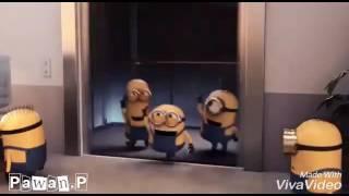Minions dancing on zing zing zingat must watch.
