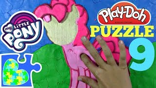 MY LITTLE PONY PLAY-DOH PUZZLE for KIDS! Number 9