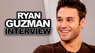 Ryan Guzman Talks