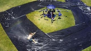 Spinning water slide (Australia Day)