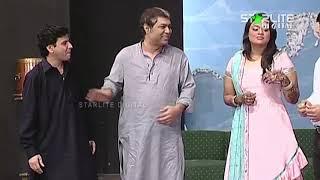 Amanat Chan and Tariq Teddy New Pakistani Stage Drama Ishq Schoolay Full Comedy Clip