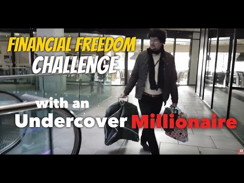 Undercover Millionaire Starts Again from Scratch FINANCIAL FREEDOM CHALLENGE