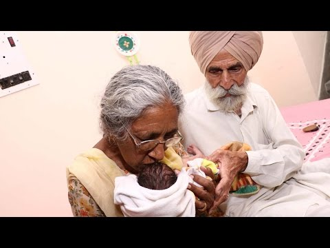 How Old?! Indian Woman In Her 70s Becomes First-Time Mother