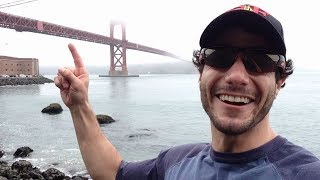 Overly Excited Tourist Goes Wild In San Francisco