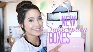 NEW SUBSCRIPTION BOXES | BOXYCHARM, BOOTAYBAG, PMS BOX, AND MORE | JUNE 2016