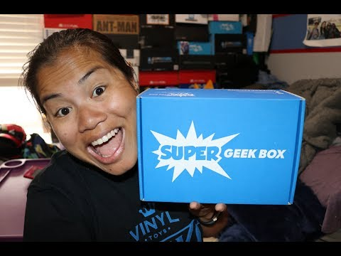 2017 May Super Geek Box Unboxing - [Galaxy]