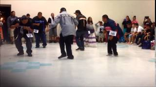 Men's Bird Dance Contest 2013 Peach Springs Az