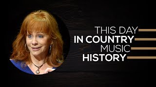Reba McEntire Became A Certified Legend | This Day In Country Music History