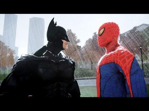 SPIDERMAN VS BATMAN - THE AMAZING SPIDER-MAN