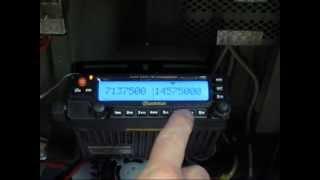 2015-02-04-3 Wouxun KG-UV950PL71-radio hamssiripiitterillä ja X-toistinasetusten kertaus (c) OH7HJ