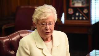 Alabama Gov. Kay Ivey discusses reductions in state workforce