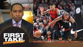 Stephen A.: Chris Paul, Damian Lillard motivated by incident from last meeting | First Take | ESPN