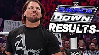 WWE SmackDown 2 June 2016 RESULTS & Spoilers