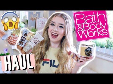 BATH AND BODY WORKS HAUL AUTUMN/FALL 2017!