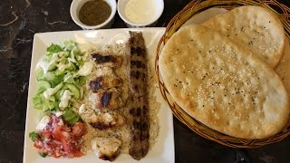Naan and kabab Recipe || Naan and kabab Platter || Full Dinner Idea ||