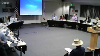 Regular Meeting of the Board of Education for MUSD - 10/24/16