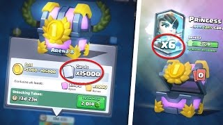 åpne brystet turnering 15000 kort Clash Royale - Norsk Spill