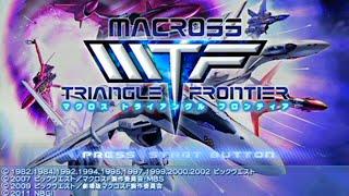 Macross Triangle Frontier - SDF Macross Campaign - PSP - Stream