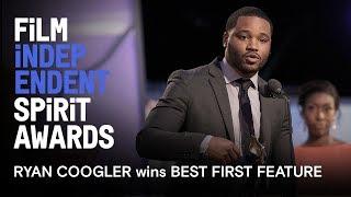 BLACK PANTHER director Ryan Coogler wins Best First Feature | 2014 Film Independent Spirit Awards