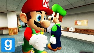 MARIO TURNS INTO A SERIAL KILLER! GMOD Murder Funny Moments!
