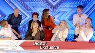 Surprise! Watch as the Judges photobomb fans | The X Factor UK 2016