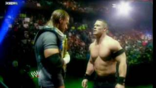 Promo Triple H vs John Cena - Night of Champions 2008