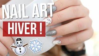 [ Nailart n°4 ] : NAIL ART HIVER & COCOONING !