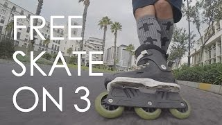 FREESKATING ON TRISKATES INSIDE A SHOPING MALL  // INLINE SKATING IN CANAL WALK  // VLOG 81
