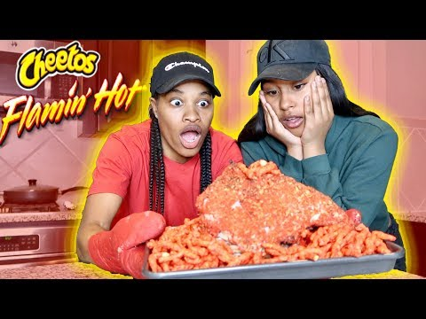 COOKING WITH JAZZ AND TAE | HOT CHEETOS TURKEY!!!