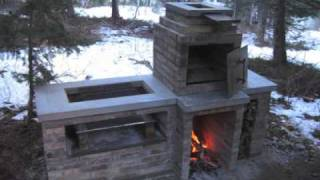 Barbecue Smoker Time Lapse