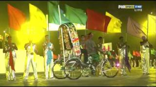 Cricket 2011 World Cup Opening Ceremony HD Part 2