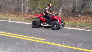 2016 nj bikelife Honda 450 vs 350 banshee race just toys 2016 kawasaki zx10 bike life is a movie