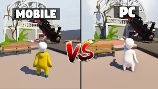 Human Fall Flat PC VS MOBILE - Which Is Better