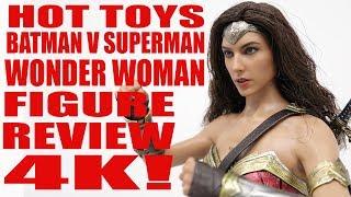 HOT TOYS BATMAN V SUPERMAN WONDER WOMAN 1/6 SCALE FIGURE REVIEW 4K
