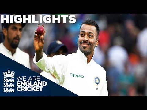 Xxx Mp4 Pandya Stars As England Collapse England V India 3rd Test Day 2 2018 Highlights 3gp Sex
